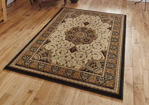 Heritage 4400 Black/Cream - Rug - Dream Floors and Furniture Ashton-Under-Lyne, Manchester