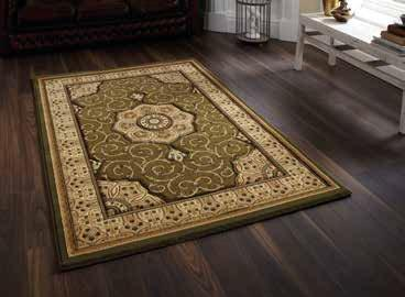 Heritage 4400 Green - Rug - Dream Floors and Furniture Ashton-Under-Lyne, Manchester