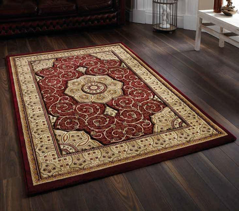 Heritage 4400 Red - Rug - Dream Floors and Furniture Ashton-Under-Lyne, Manchester