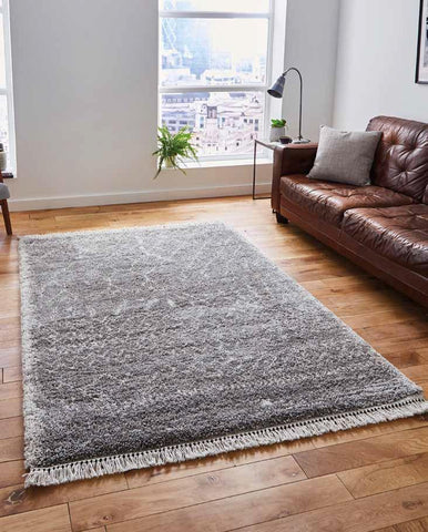 Boho 5402 Grey - Rug - Dream Floors and Furniture Ashton-Under-Lyne, Manchester