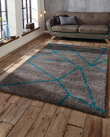 Royal Nomadic 5746 Grey/Blue - Rug - Dream Floors and Furniture Ashton-Under-Lyne, Manchester