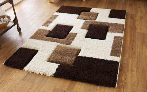 Fashion 7646 Ivory/Brown - Rug - Dream Floors and Furniture Ashton-Under-Lyne, Manchester