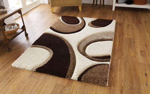 Fashion 7648 Ivory/Brown - Rug - Dream Floors and Furniture Ashton-Under-Lyne, Manchester