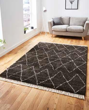 Boho 8280 Brown/White - Rug - Dream Floors and Furniture Ashton-Under-Lyne, Manchester