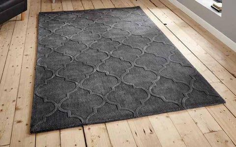 Hong Kong 8583 Charcoal - Rug - Dream Floors and Furniture Ashton-Under-Lyne, Manchester