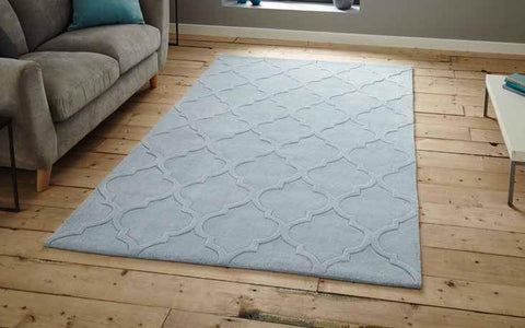 Hong Kong 8583 Light Blue - Rug - Dream Floors and Furniture Ashton-Under-Lyne, Manchester