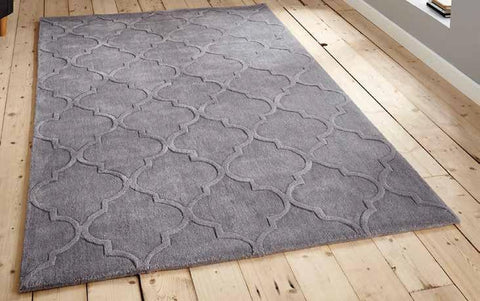 Hong Kong 8583 Silver - Rug - Dream Floors and Furniture Ashton-Under-Lyne, Manchester