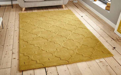 Hong Kong 8583 Yellow - Rug - Dream Floors and Furniture Ashton-Under-Lyne, Manchester