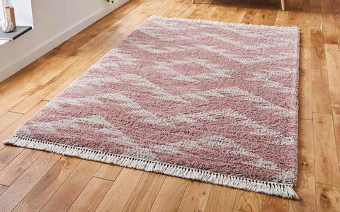 Boho 8733 Rose - Rug - Dream Floors and Furniture Ashton-Under-Lyne, Manchester