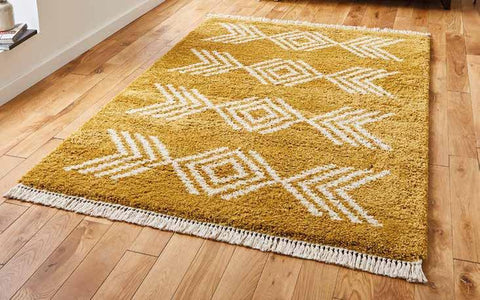Boho 8886 Yellow - Rug - Dream Floors and Furniture Ashton-Under-Lyne, Manchester