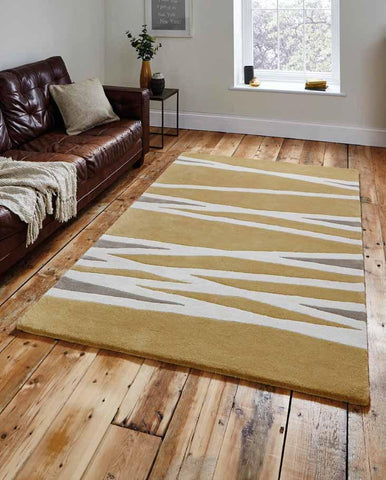 Elements EL61 Yellow - Rug - Dream Floors and Furniture Ashton-Under-Lyne, Manchester