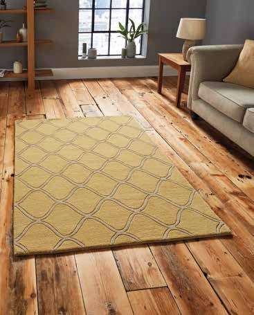 Elements EL 65 Yellow - Rug - Dream Floors and Furniture Ashton-Under-Lyne, Manchester