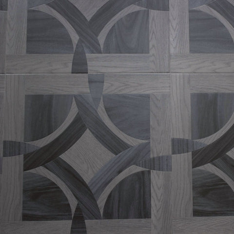 Grey Square Parquet - Laminate - Dream Floors and Furniture Ashton-Under-Lyne, Manchester