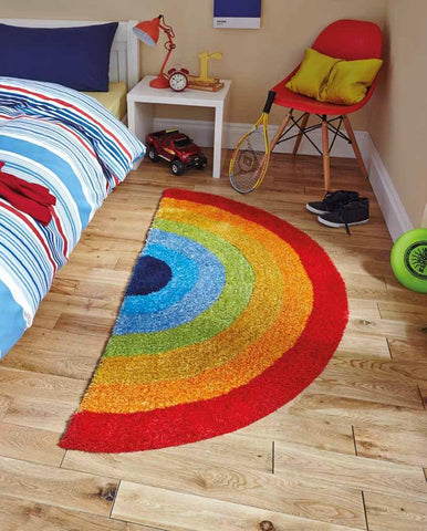 Hong Kong 6083 Rainbow - Rug - Dream Floors and Furniture Ashton-Under-Lyne, Manchester