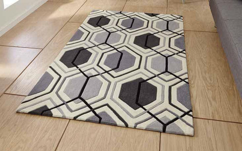 Hong Kong 7526 Grey - Rug - Dream Floors and Furniture Ashton-Under-Lyne, Manchester