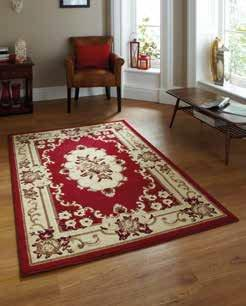 Marrakesh Red Circle - Rug - Dream Floors and Furniture Ashton-Under-Lyne, Manchester