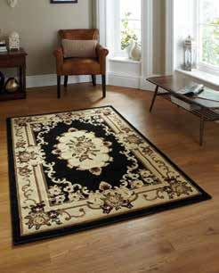 Marrakesh Black Circle - Rug - Dream Floors and Furniture Ashton-Under-Lyne, Manchester