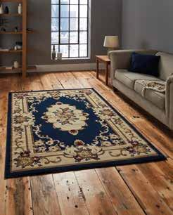 Marrakesh Dark Blue Circle - Rug - Dream Floors and Furniture Ashton-Under-Lyne, Manchester