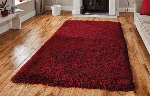 Montana Dark Red - Rug - Dream Floors and Furniture Ashton-Under-Lyne, Manchester
