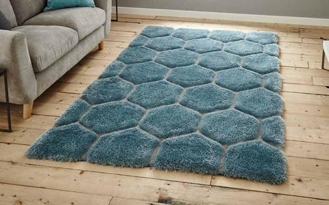Noble House NH30782 Blue - Rug - Dream Floors and Furniture Ashton-Under-Lyne, Manchester