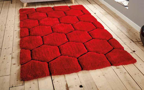 Noble House NH30782 Red/Black - Rug - Dream Floors and Furniture Ashton-Under-Lyne, Manchester