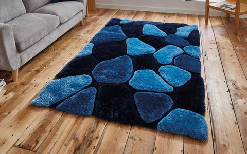Noble House NH5858 Blue - Rug - Dream Floors and Furniture Ashton-Under-Lyne, Manchester