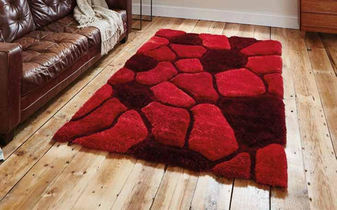 Noble House NH5858 Red - Rug - Dream Floors and Furniture Ashton-Under-Lyne, Manchester