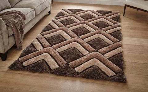 Noble House NH8199 Brown - Rug - Dream Floors and Furniture Ashton-Under-Lyne, Manchester