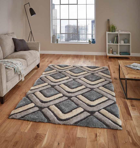 Noble House NH8199 Grey/Blue - Rug - Dream Floors and Furniture Ashton-Under-Lyne, Manchester