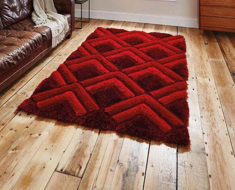 Noble House NH8199 Red - Rug - Dream Floors and Furniture Ashton-Under-Lyne, Manchester
