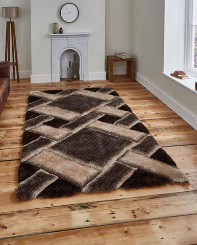 Noble House NH9716 Beige/Brown - Rug - Dream Floors and Furniture Ashton-Under-Lyne, Manchester