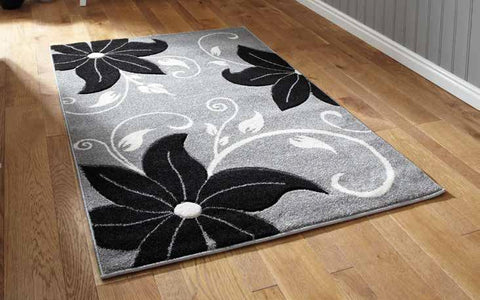 Verona OC15 Grey/Black - Rug - Dream Floors and Furniture Ashton-Under-Lyne, Manchester