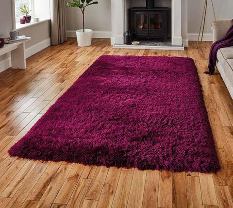 Polar PL 95 Plum - Rug - Dream Floors and Furniture Ashton-Under-Lyne, Manchester
