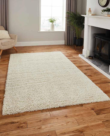Repreve Recycled Shaggy Ivory - Rug - Dream Floors and Furniture Ashton-Under-Lyne, Manchester