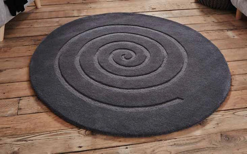 Spiral Grey - Rug - Dream Floors and Furniture Ashton-Under-Lyne, Manchester