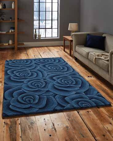 Valentine VL 10 Blue - Rug - Dream Floors and Furniture Ashton-Under-Lyne, Manchester