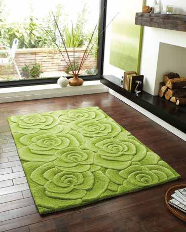 Valentine VL 10 Green - Rug - Dream Floors and Furniture Ashton-Under-Lyne, Manchester