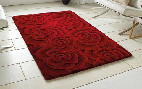 Valentine VL 10 Red - Rug - Dream Floors and Furniture Ashton-Under-Lyne, Manchester