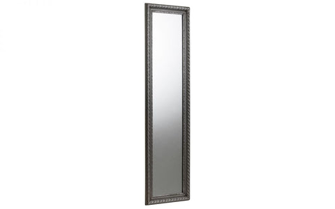Allegro Pewter Dress Mirror - Furniture - Dream Floors and Furniture Ashton-Under-Lyne, Manchester