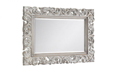 Baroque Distressed Wall Mirror - Furniture - Dream Floors and Furniture Ashton-Under-Lyne, Manchester