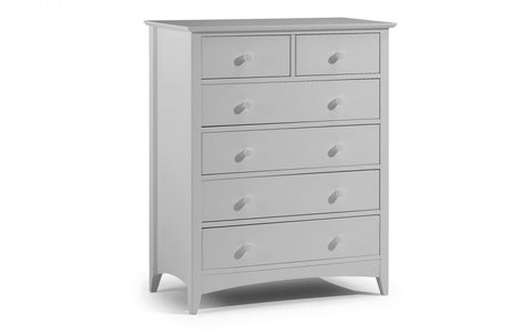 Cameo 4+2 Drawer Chest - Furniture - Dream Floors and Furniture Ashton-Under-Lyne, Manchester