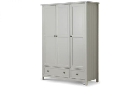 Maine 3 Door Combination Wardrobe - Furniture - Dream Floors and Furniture Ashton-Under-Lyne, Manchester