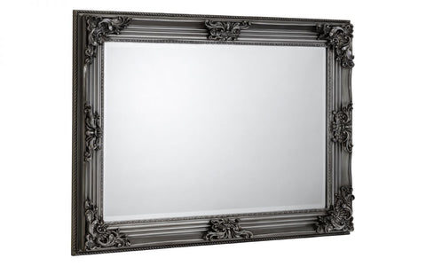 Rococo Pewter Wall Mirror - Furniture - Dream Floors and Furniture Ashton-Under-Lyne, Manchester