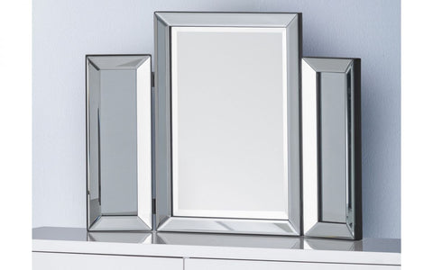 Soprano Folding Dressing Table Tri Mirror