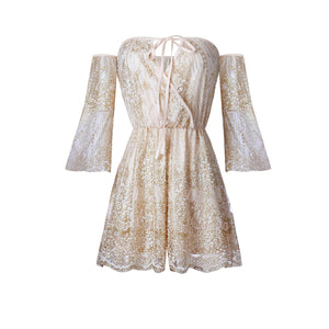 SUMMER SEQUIN PLAYSUIT