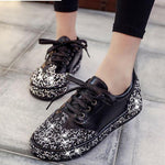 SHINY BRILLIANT SNEAKERS Shoes - Zia Clothing Company