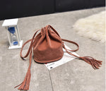 TASSEL BUCKET BAG  - Zia Clothing Company