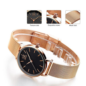 MESH BELT WATCH WATCH - Zia Clothing Company