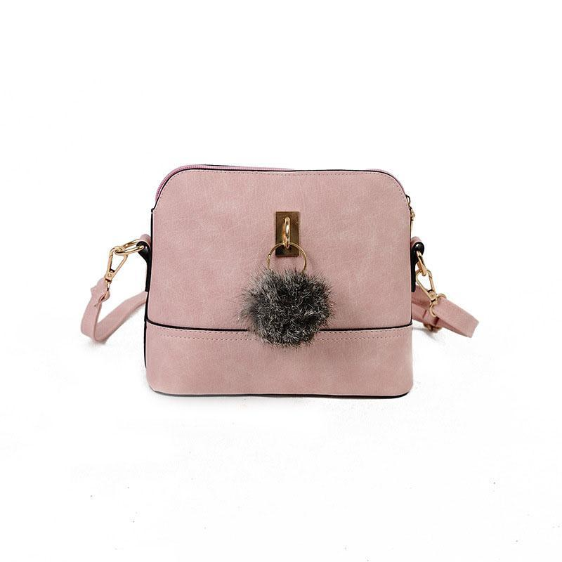 NUBUCK LEATHER SMALL SHOULDER BAG Bag - Zia Clothing Company