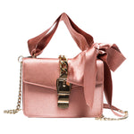 LUXURY BOWKNOT CHAINS FLAP BAG Bag - Zia Clothing Company